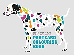 Postcard Coloring Book: Designs from Nature with 24 Cards to Color In
