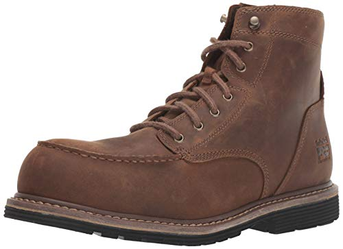 Timberland PRO Men's Millworks 6' Moc Composite Safety Toe Industrial Boot, Brown Gaucho, 11 M US