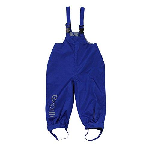 Minymo MINYMO Kinder Regenhose Matschhose Wassersäule 5000 atmungsaktiv blau, Größe:110, Farbe:Surf The Web