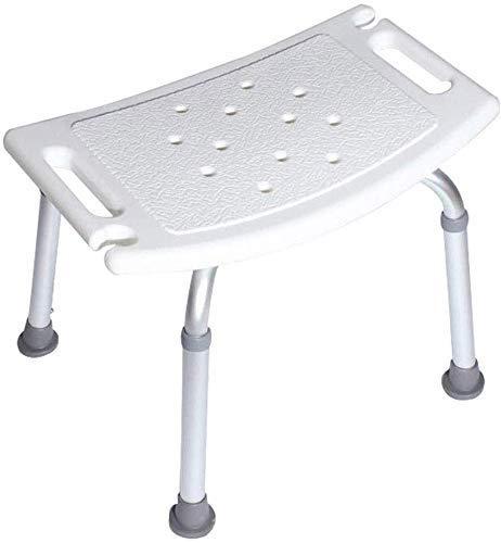 ZJN-JN Facendo il bagno sedia sgabello da bagno bagno sedia Chair Altitudine slittamento regolabile resistente Compatible with anziani, disabili, donne in gravidanza Le sedie a rotelle per bagno