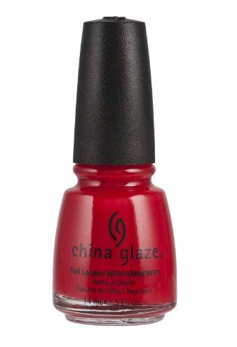 China Glaze Nail Polish, Italian Red, 0.5 Fluid Ounce