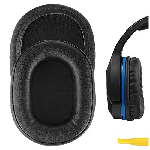 Geekria cuscinetti di ricambio per auricolari Turtle Beach Ear Force Stealth 700, 450, 420X, 600, 500P, Ear Force XO Seven, cuscinetti per cuffie da gaming, parti di riparazione