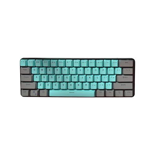 Keycaps PBT Cover per tastiera con profilo OEM traslucido Double Shot 61 tasti per tastiera meccanica