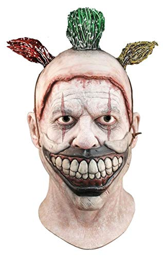 American Horror Story Gezichtsmasker voor volwassenen, Twisty The Clown Economy Mask