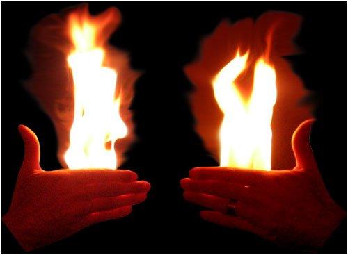 Feuer in den Händen (vertrieben von 2)