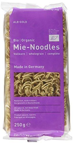 Alb-Gold Vollkorn Mie-Noodles Bio/Organic o.E., 10er Pack (10 x 250 g)
