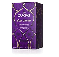 Perfect for facilitating digestion after a meal. The generous flavour of roasted chicory, and the soothing properties of cardamom associated with aniseed flavours, followed by the softness of fennel and liquorice, x20 sachets