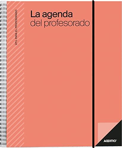 Additio P212 Agenda del profesorado Agenda + Evaluación + Anotaciones Rojo