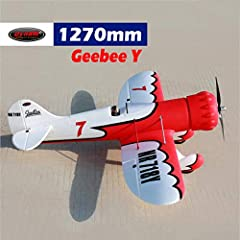 What are included:Dynam GeeBee airplane, motor, ESC, 4*9g servos, MSR66A Sport Receiver, GAVIN-6A transmitter, 11.1V 2200mAh Li-Po, 20C battery and charger What are required (Not included):1 hour assembly time Material: EPO Foam Flying Weight: 1250g ...