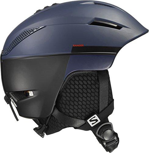 Salomon, Unisex Allround-Ski- und Snowboardhelm, EPS 4D, Gr. S, Kopfumfang 53-56 cm, Ranger, Marineblau/Schwarz, L39125000