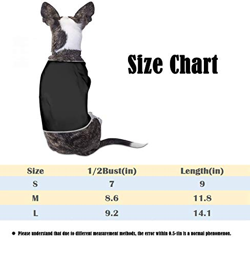 YBKTRLOJ Ironworker Crossed Tools Dog Shirt Sleeveless Jacket Vest for Pet Parka T-Shirts Breathable Cat Tee Small Dog Coats Apparel