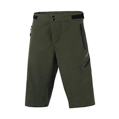 GITVIENAR Nouvelle Version Pantalon d'alpinisme Hommes Short à Demi Séchage Rapide Pantalon de Sport Extérieurs VTT Vélo Jogging Camping Randonnée