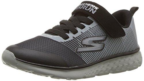 Skechers Go Run 400-Kroto, Sneaker Bambino, Grigio (Charcoal/Black Ccbk), 36 EU