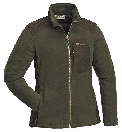 Pinewood Damen Wildmark Membran Fleece Jacke, Braun/Wildlederbraun, M
