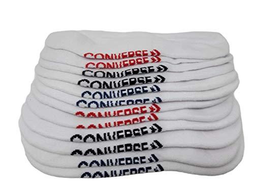 Converse Mens No Show Socks 6 Pack Half Cushion Ultra Low Made For Chucks