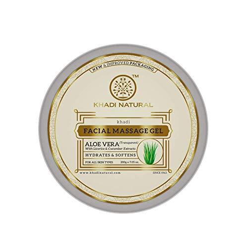 Khadi Natural Ayurvedic Aloevera Gel (Transparent), 200g