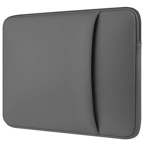 15.4 Pulgadas Funda para MacBook Pro A1707 (2016-2018)/Impermeable Ordenador Portátil Caso/Estilo Elegante Bolsa Protectora para 15 Pulgadas Laptops Acer DELL HP Lenovo Samsung ASUS Fujitsu,Gris 4