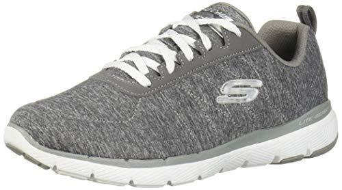 Skechers Flex Appeal 3.0-insiders Tenis para mujer, gris (GRY), 42 EU