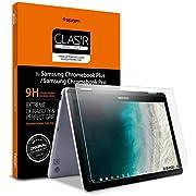 Spigen Tempered Glass Screen Protector Designed for Samsung Chromebook Plus V2 (12.2 inch) [9H Hardness]