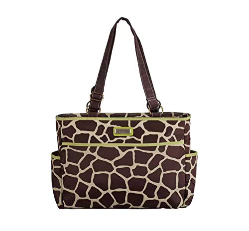 Yan Show Dames Luiertas Luipaard portemonnee Grote Capaciteit Polyester Waterdichte Handtas Tas met Meerdere Zakken