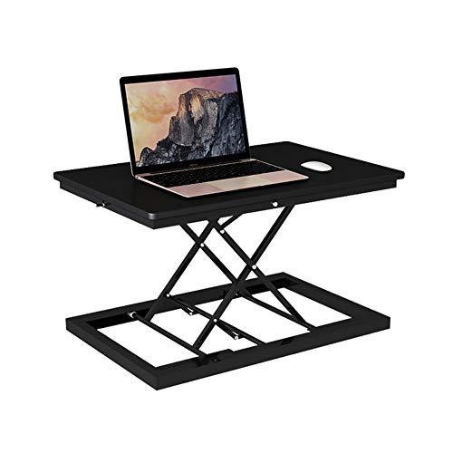 LJHA Faltbarer Laptop-Schreibtisch - Steh-Computer-Hubtisch, Desktop-Computer-Schreibtisch, Faltbarer Notebook-Schreibtisch, Mobile Werkbank, Es Gibt Drei Arten Tabelle (Color : C)