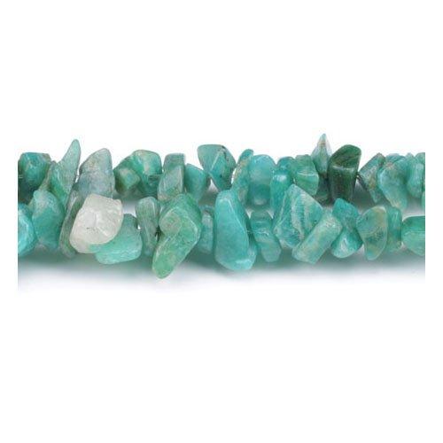 Charming Beads Lungo Fili 240+ Verde Amazzonite 5-8mm Chips Tagliato a Mano Perline GS5200