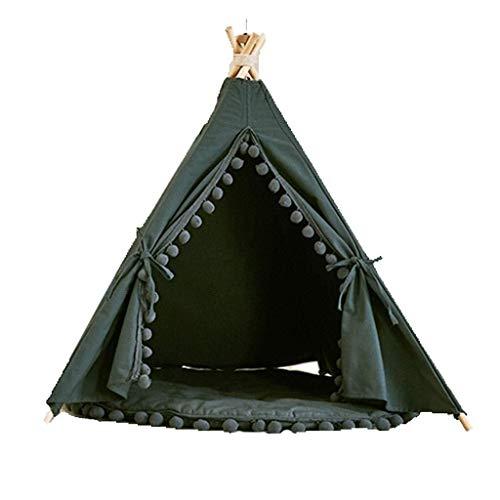 BANANAJOY Haustiere Betten, Kleine und mittlere Haustier-Zelt-Cat Sleeping Nest im Freien Haustier-Zelt Hund Yurt...