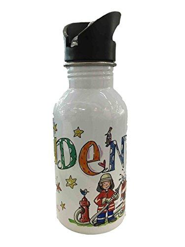 Edelstahl-Trinkflasche mit Namen, 500 ml, Rosirosinchen