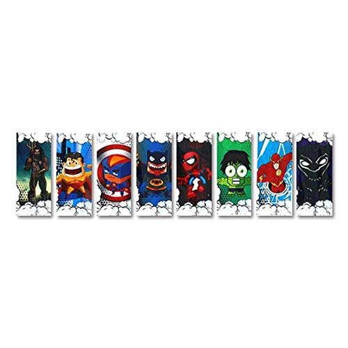 Super Heroes Series - Wraps pour accus 18650 (5pcs) - Super Heroes Series - Spiderman
