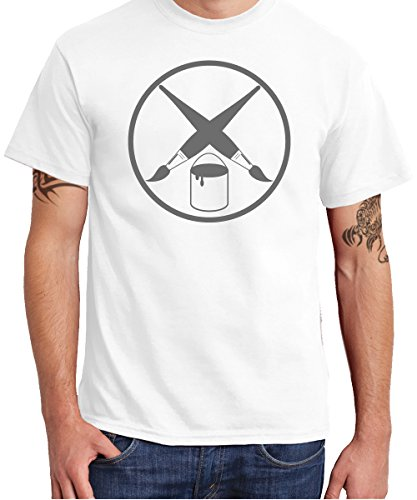 - Maler Zunft - Boys T-Shirt Weiß, Größe M