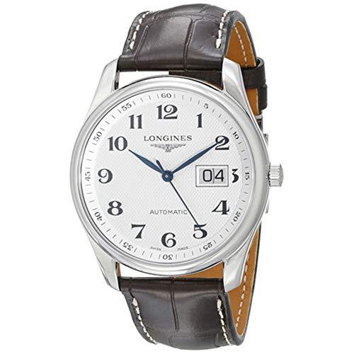 Longines Relojes Longines Master Collection Automaic Transparente Case Back Reloj de hombre
