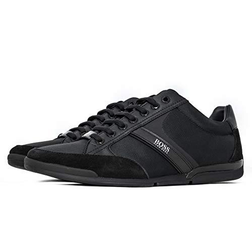 BOSS Herren Saturn Lowp Lowtop Sneakers mit speziellem Innenfutter Größe 43