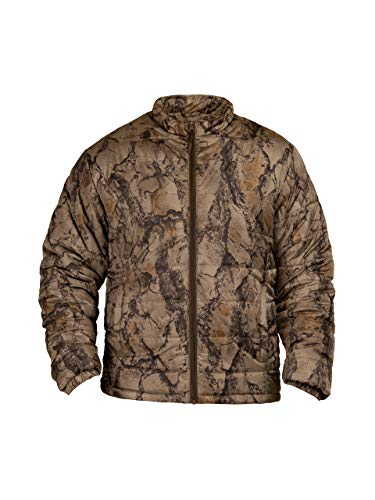 Natural Gear Camo Jacket for Men and Women, Synthetic Down Hunting Jacket, Camo Shell Made from 100% Polyester (Medium)