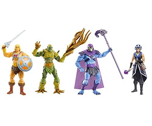Masters of the Universe GYV09 Masterverse Collection He-Man Actionfigur, ca. 18cm große MOTU Actionfiguren zum Spielen und Sammeln, Geschenk für Kinder ab 6Jahren und Sammler jeden Alters Bunt