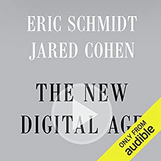 The New Digital Age audiobook cover art