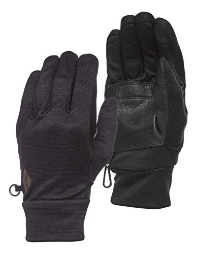 Black Diamond Midweight Wooltech Gloves Guantes, Unisex adulto, Anthracite, Small
