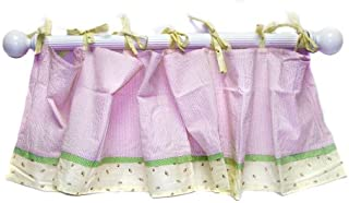 Crown Crafts How Does Your Garden Grow? Window Valance (Discontinued by Manufacturer)