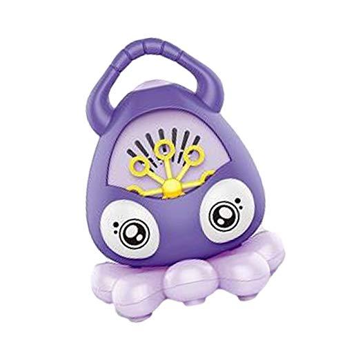 XIYIN Máquina De Burbujas para Niños, Octopos Automáticos Bubble Blower, Fabricante De Burbujas De Música Portátil con 3000+ Burbujas/Min, Juguetes De Burbujas para Niños
