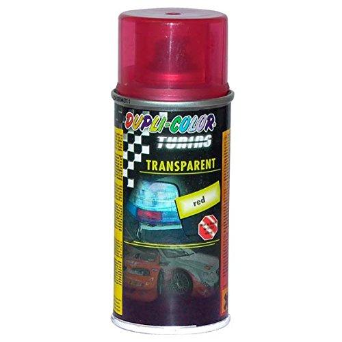 Dupli Color 648908- Spray per Tuning e Universale, 150ml, Colore: Rosso Trasparente