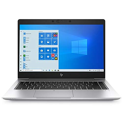 HP EliteBook 745 G6 Notebook, Silver, AMD R7 Pro 3700U, 8GB RAM, 256GB SSD, 14' 1920x1080 FHD, HP 3 YR WTY + EuroPC Warranty Assist, (Renewed)