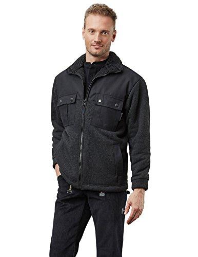 Pionnier wORKWEAR veste d'hiver pour homme lumber à delhi (article 2976), noir