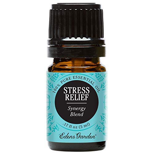 Genuine Free Shipping Edens Garden Stress Relief Essential Blend Popular product Pur Oil 100% Synergy