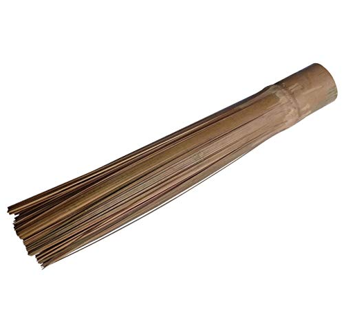 Plai Na Bamboo Wok Cleaning Brush Scrub Kitchen Tools Supply Skillet Pan, 11.5 Inch