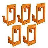 Stanz (TM) Lot de 5 supports de montage muraux pour câbles et câbles