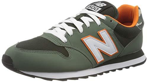 New Balance Herren 500 h Sneaker, Grün (Green Tsh), 43 EU