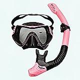 LANGTAOMY Gafas de Natación Gafas de natación Rosa Ajustable Buceo...