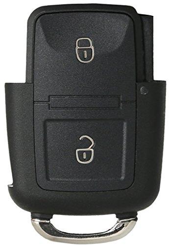 Liamgate Ersatz Schlüsselgehäuse geeignet für VW-Schlüssel-mit-2-Tasten