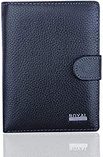 Kino Black Leather For Men - Bifold Wallets