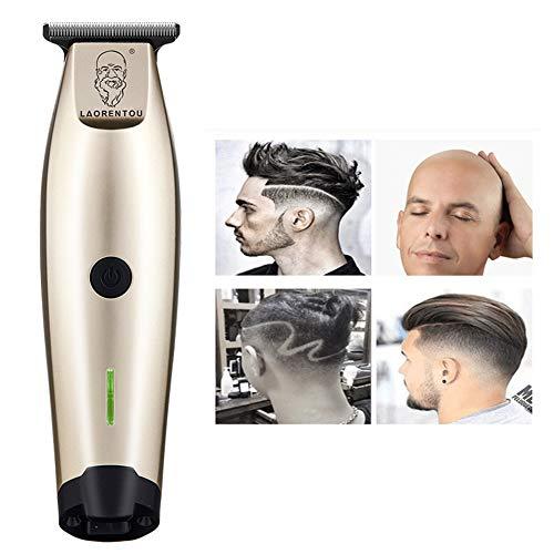 100-240 V Professionell Haarspange Elektrisch Haarschneider 0,1Mm Haare Schneiden Maschine Bart Trimmer Haarschnitt Clipper Wiederaufladbar,gold