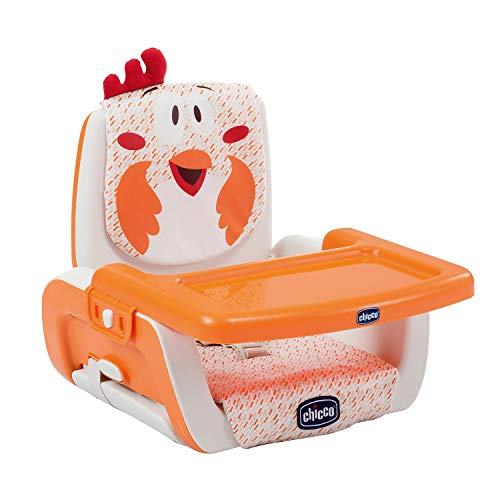 Chicco Mode - Elevador regulable en 3 alturas, 2 kg, diseño gallina